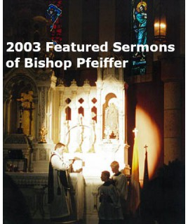 2003 Featured Sermons of...